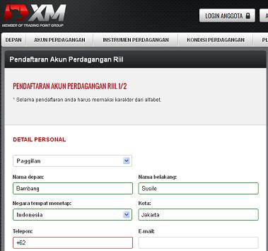 pendaftaran-xm